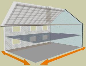 iso discount : calcul de surfaces pour l'isolation de sa maison - Comment Calculer La Surface D Une Chambre