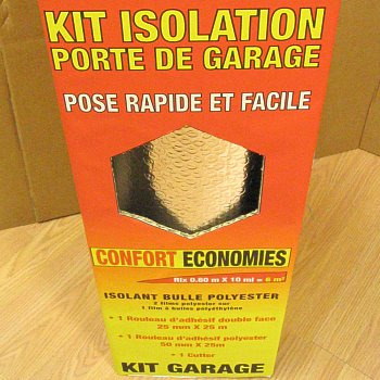 Iso discount isolation tetra kit garage - Porte de garage 5m ...